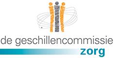 Logo van de Geschillencommissie Zorg